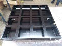Кабинет (корпус) 640х640 тыловой, интерьерный для LED экрана