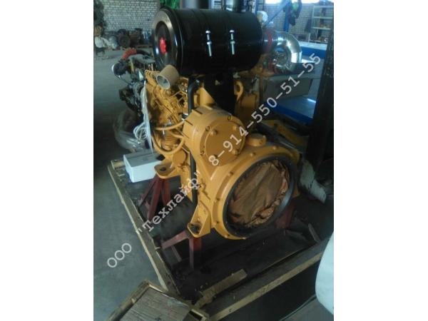 Двигатель Shanghai SC5D125G2B1 (D4114ZG4B) на каток XCMG XS142J, SDLG