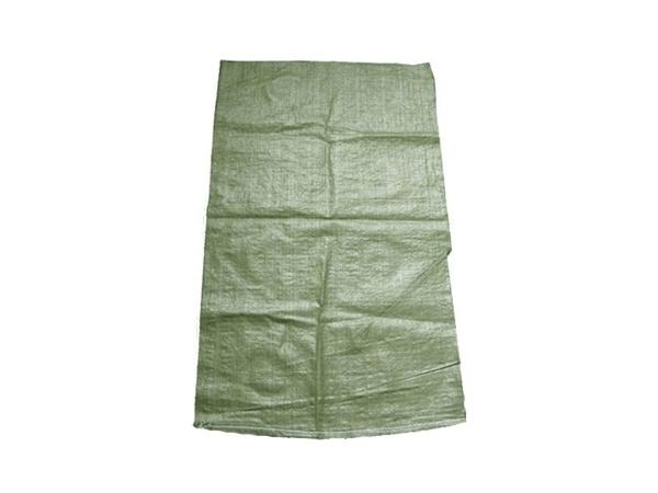 Мешок полипропиленовый зеленый, эконом.