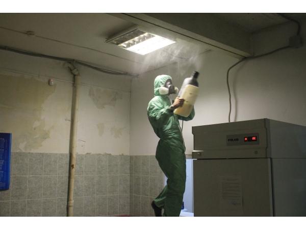 Обработка холодным туманом в Орле клопов, тараканов, блох