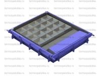 Металлоформы заборов и ограждений с вибраторами и прогревом (вода)