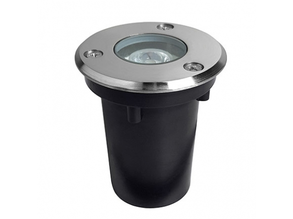Грунтовый светодиодный светильник LL-GR-Round-1
