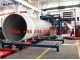 Непрерывная линия для производства стеклопластиковых труб