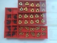 Сменные пластины для сверл для рельс