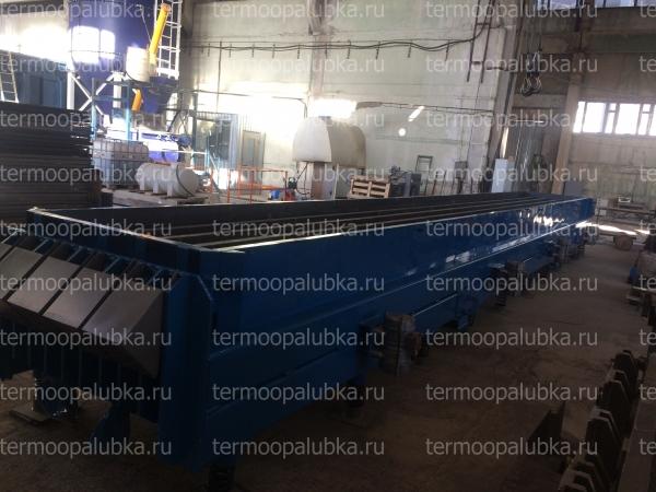 Металлоформы опор СВ-95 с вибраторами и прогревом (пар/вода/электро)