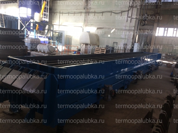 Металлоформы опор СВ-110 с вибраторами и прогревом (пар/вода/электро)