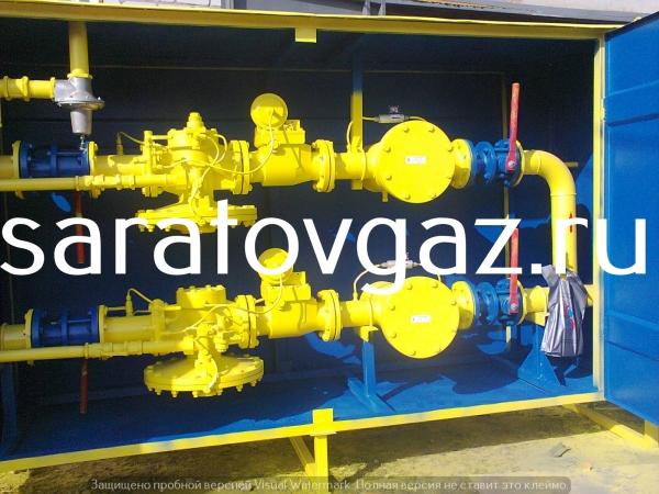 Производство : газорегуляторный пункт шкафной ГСГО-100-03 . Срок изгот