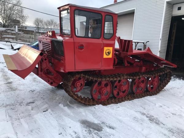 Новый трелевочный трактор ТДТ-55
