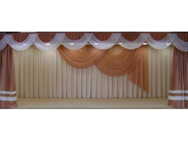Производство одежды сцены и театральных штор.