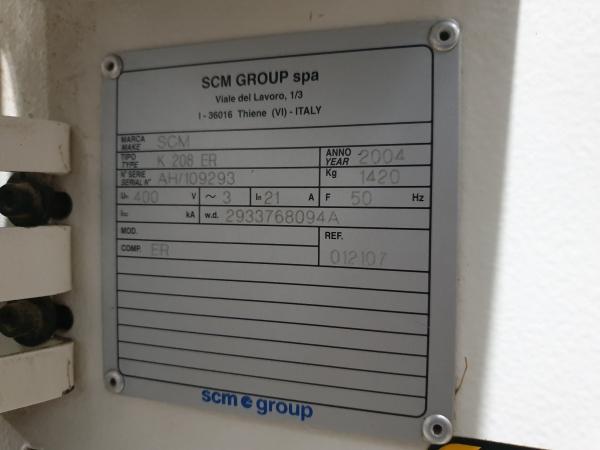 Кромкооблицовочный станок б/у SCM Olimpic K208ER