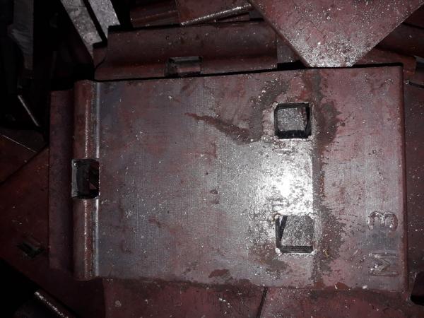 Подкладка Д-24 (Д24) ГОСТ 8142-89 СТ3СП для рельс Р24 новая по 129 000 руб./т