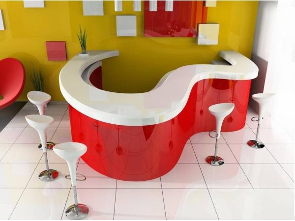 Мебель для кафе, бара ресторана, витрины, стойки, прилавки.