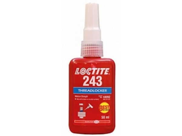 Loctite 243 Анаэробный фиксатор резьбы, фланцевого крепежа средней про