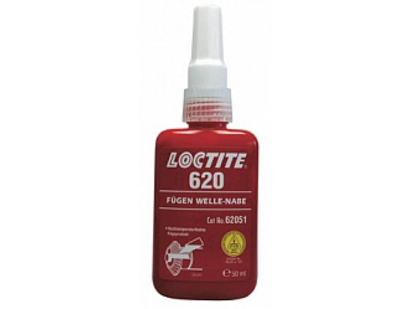 Loctite 620 высокопрочный, термостойкий вал-втулочный фиксатор 50 мл