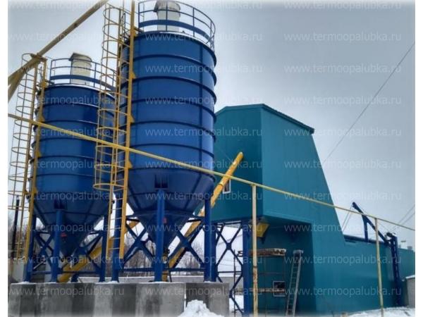 Зимние/утепленные бетонные заводы 35-75 м3