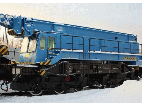 Кран железнодорожный ЕДК 300/5 50 тонн