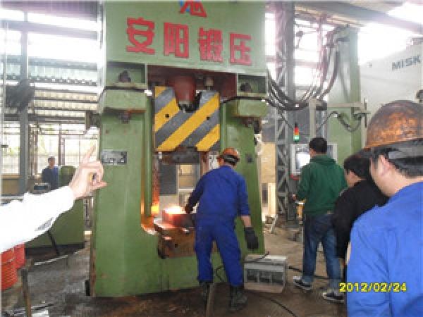Штамповочный молот с ЧПУ из Китая