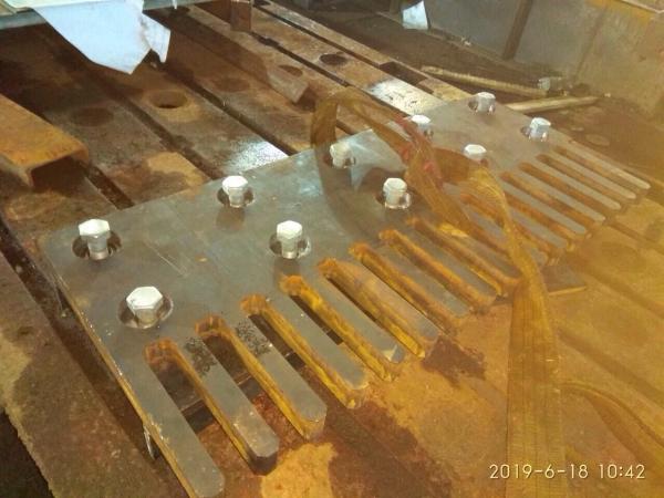 Изготовление ПГ, плита гребенчатая
