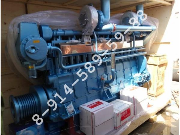 Серия судовых дизелей Weichai X8170 различной мощности