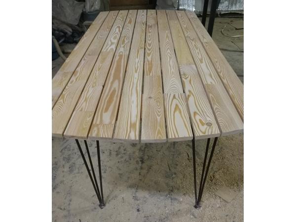Садовый стол со съемными ножками