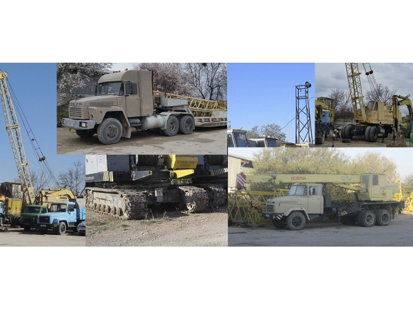 Аренда монтажных кранов МКГ на гусеничном ходу гп 25 - 40