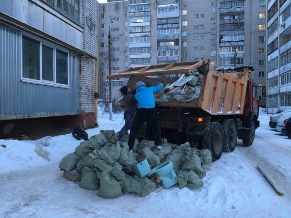 Вывоз мусора после ремонта квартиры Нижний Новгород