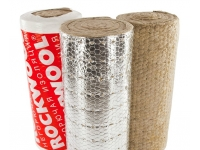 ROCKWOOL - базальтовые цилиндры и прошивные маты