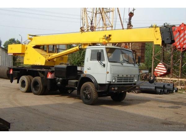 Аренда Автокрана 16, 25, 32, 50 тонн
