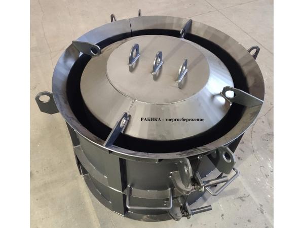Виброформа (опалубка для изготовления бетонных колец КС