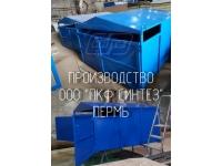 Контейнер для сбора макулатуры и мусора 6 м3, производство