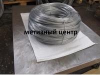 Проволока пружинная нержавеющая 12Х18Н10Т ТУ 3-1002-77