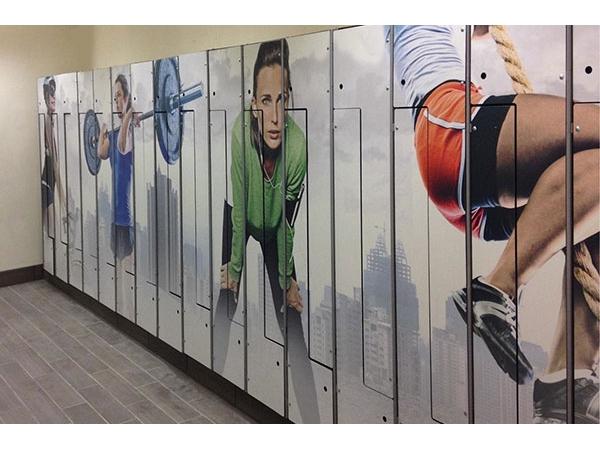 Шкафчики пластик HPL спортивные для раздевалок и бассейнов
