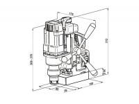 Магнитный сверлильный станок МС-36