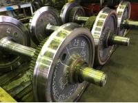 Реализуем запасные части  Колесная пара ТЭМ-2 с буксовыми узлами