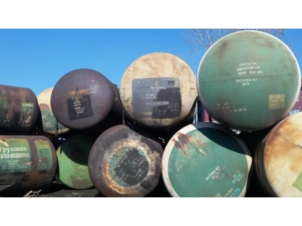 Бочки, резервуары, цистерны 66 калибра 85, 6 куб. м Б/У