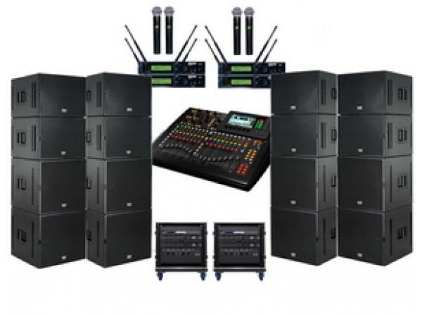 Прокат, продажа и монтаж звукового, светового оборудования