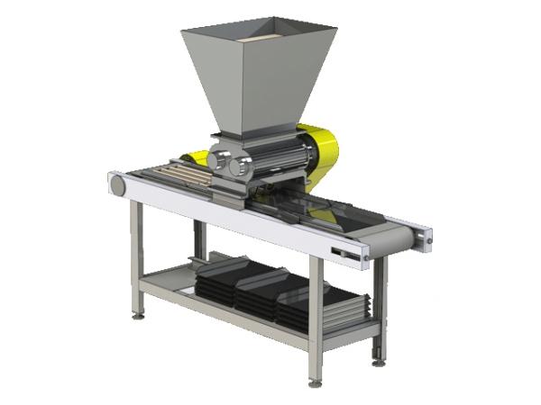 Машина формования сухарных плит МФСП-2ш