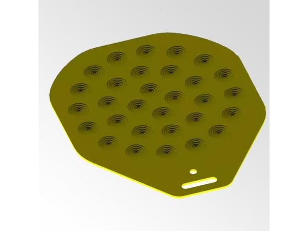 Поднос (лист формовочный) для тестоделителя-округлителя