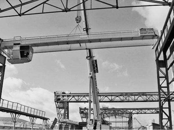 Монтаж и демонтаж мостовых и козловых кранов