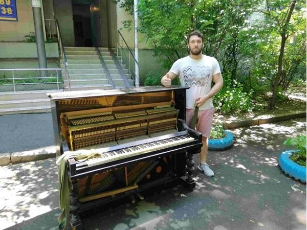 Перевозка Пианино. Перевозка Рояля. Подъем в квартиру.