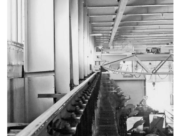 Ремонт подкрановых путей козловых, мостовых, башенных кранов.