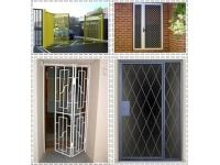 Решетки распашные и складные на двери от производителя