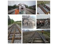 Ремонт железнодорожных подъездных путей, жд тупиков подъемочный
