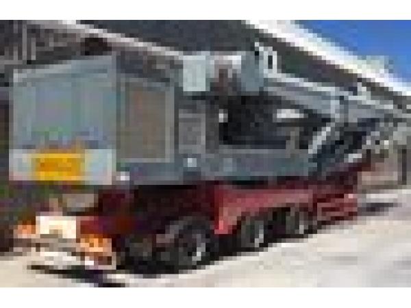 Б/У мобильная система Корабельной перегрузки цемента 300 т/ч