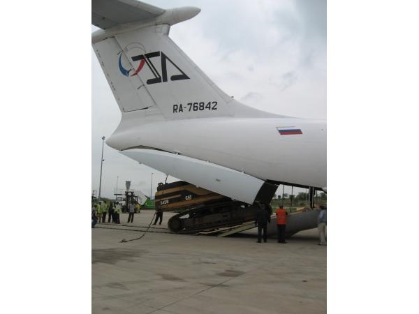 Авиаперевозки крупногабаритных грузов
