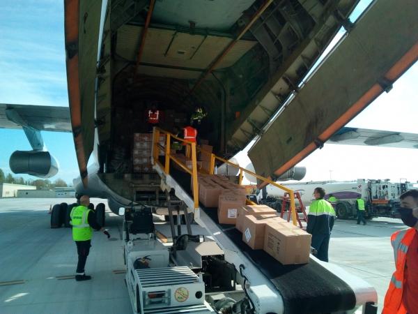 Авиаперевозки гуманитарных грузов