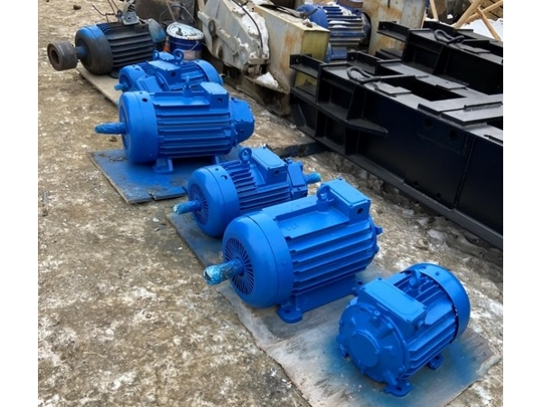 Электродвигатель на поворот MTF-311M6 7,5 кВт ДЭК-251