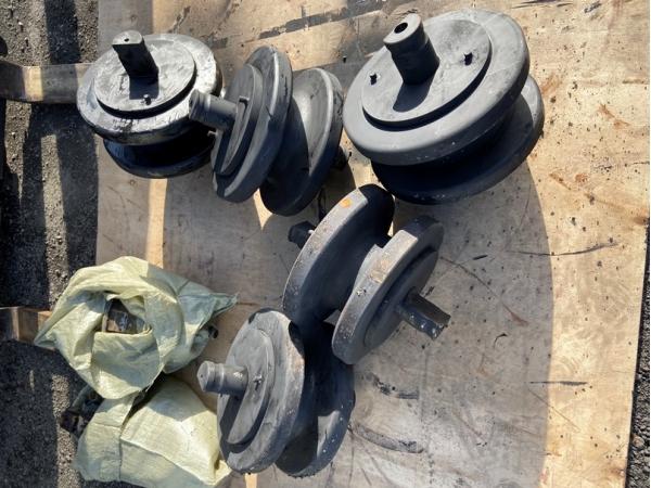 Опорный каток (колесо опорное) 720.114-12.05 на РДК-250