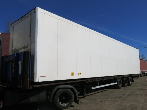 Фургон изотермический Schmitz полурамный, 2008