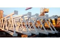 Производство и монтаж металлических каркасов для зданий.